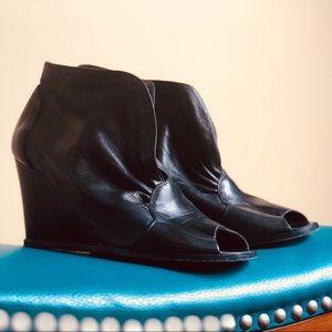 Belle Sigerson Morrison Black Leather Booties
